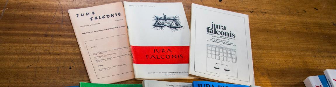 Jura falconis tijdschriften